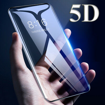 For Samsung Galaxy A7 2018/J4 J6 Plus Film Full Tempered Glass Screen Protector