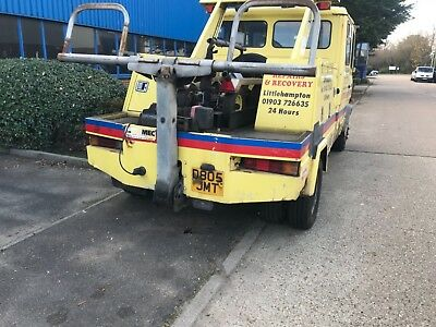 Mercedes 809 recovery / spec lift truck
