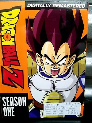 Dragonball Dragon Ball Z: Anime Series Complete Season 1 Box/DVD Set NEW!