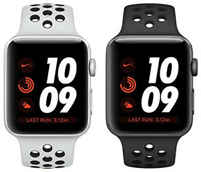 Apple Watch Series 3 Aluminum Nike+ 38MM Silver Space Gray | Excellent A-Grade