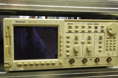 Oszilloskop Tektronix TDS 754C, 500MHz, Optionen 13 1F 1M 2F, oscilloscope