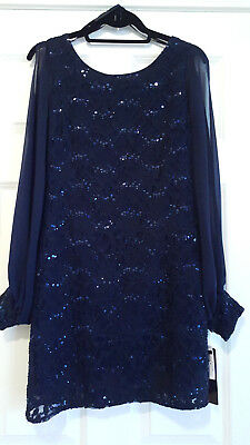Betsy and Adam Cocktail Party Holiday Dress NWT Size 6