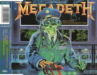 Megadeth – Holy Wars... The Punishment Due (3 Track CD Single)