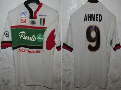 Maglia Jersey Shirt Maillot Calcio Football Soccer Milan Italy Beach Worn Ahmed