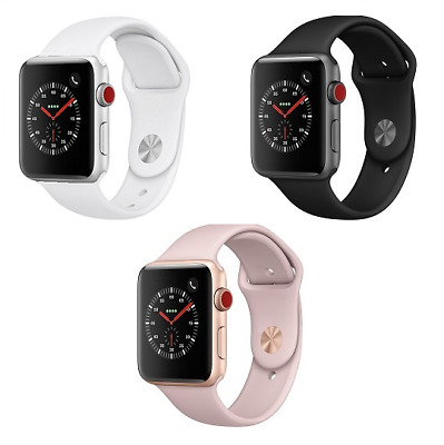 Apple Watch Series 3 - 38mm - GPS 4G Cellular - Aluminum Case Smart Watch