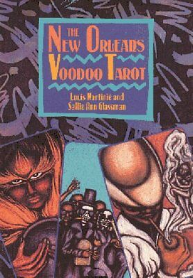 The New Orleans Voodoo Tarot by Louis Martinie 9780892813636 (Cards, 1992)