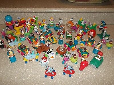 1990s McDonalds Fast Food 56 PVC Toys MUPPETS LOONEY TUNES DISNEY PEANUTS SNOOPY