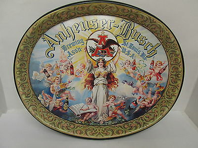 Serving Tray Anheuser Busch Brewing Assn. St. Louis Mo.   Classic  Vintage    XX