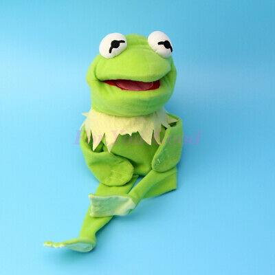 Muppets Most Wanted Show Kermit the Frog Plush Doll Hand Puppet Toy Xmas Gift