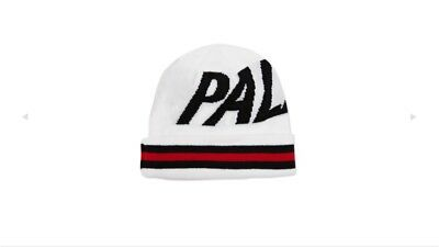 28f7aef0 Palace Skateboards Beanie Woolly Hat Stripe Cuff White Supreme Quality  Deadstock