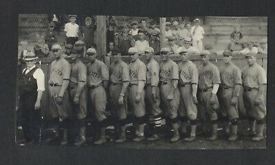SWEDE RISBERG 1919 Black Sox Type 1 Original Photos team photo Rochester, Minn