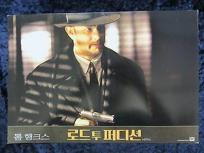 ROAD TO PERDITION  lobby card # 8 - TOM HANKS, PAUL NEWMAN, JUDE LAW