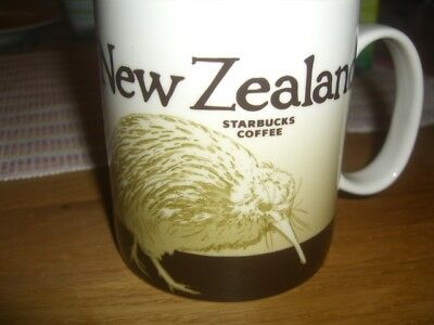 ***Starbucks City Mug New Zealand Neuseeland Icon Serie Made in China TOP***
