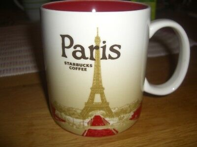 ***Starbucks City Mug Paris Frankreich Icon Serie Made in China TOP***