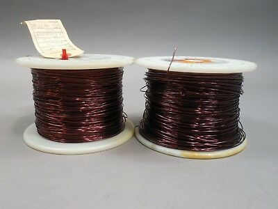 Magnet Wire 17 Gauge AWG Enameled Copper 1500 Feet Coil Winding 12lbs