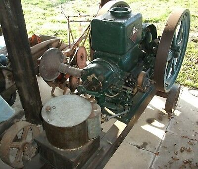 1919 POWELL 5 H.P STATIONARY ENGINE number 1924.