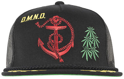 dec3d45f612 Diamond Supply Admiral Mesh Trucker Hat Snapback Headwear Cap Fashion Mens  Black