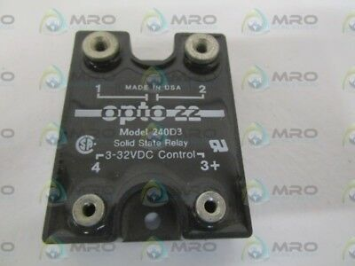 Opto 22 240D3 Solid State Relay *new No Box*