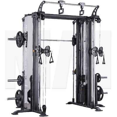 MA1 Elite Multifunction Trainer Smith, Cables And Chins Commercial Grade MA-EMFT