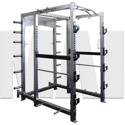 MA1 Elite Power Cage Commercial Grade Workout Training Equipment MA-PC-ELT