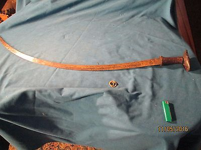 Indo-Persian Sword - Middle Eastern  Sword - #qx3