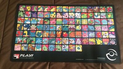 Playmat Play Pokémon Professor Johto