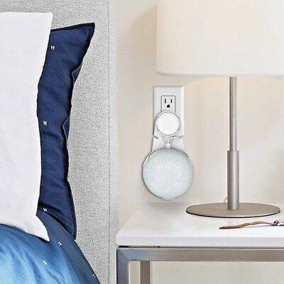 Outlet Wall Mount Holder for Google Home Mini