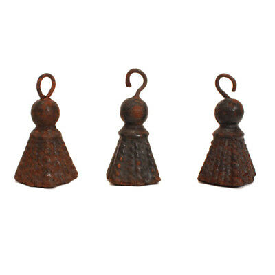 Antique Iron Tassels c. Mid-19th Century Architectural Trompe L'Oeil AAFA