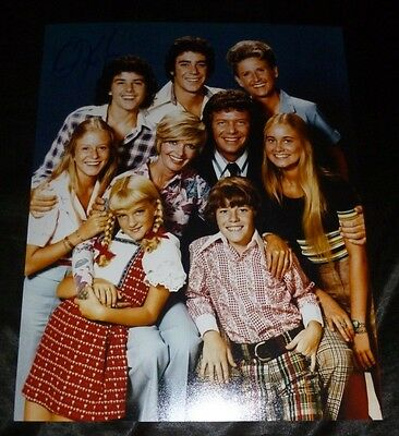 """CHRISTOPHER KNIGHT Authentic Hand-Signed """"Peter -Brady Bunch""""11x14 Photo (PROOF)"""