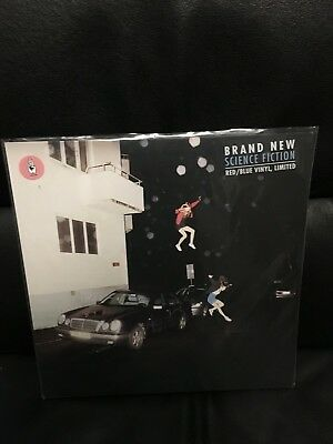 """Brand New """"science Fiction"""" Limited Edition Lp Blue/red Colored Vinyl"""