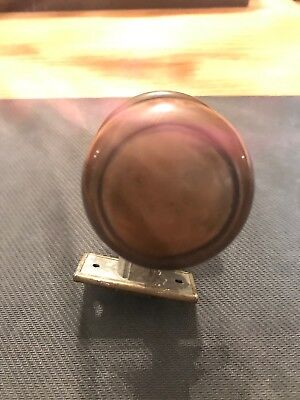 Vintage, Antique Brass Door Knob Set
