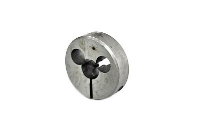 "M5x0.8, Adjustable Button Die 2"" OD, SKC Thread Tool Carbon Tungsten Steel."
