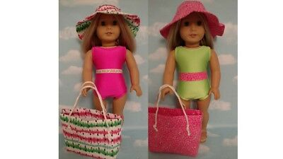 """Swimsuit Doll Clothes for 18"""" American Girl Doll 752cd"""