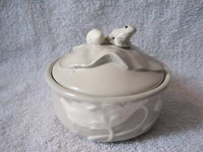 Beautiful - Takahashi - Hand-Painted - Frog And Mouse Lid - Sugar Bowl - Gift!!