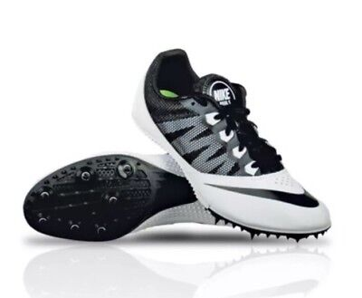 the best attitude 32b3c c8090 Nike Zoom Rival S 7 Men Track Sprint Run Racing Shoes 616313 017 White Size  10