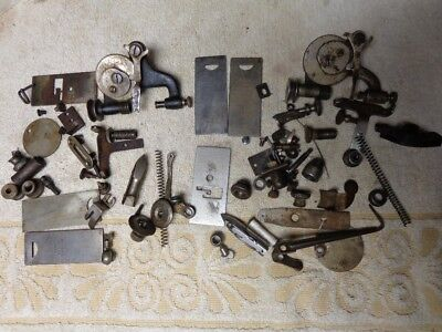 50+ Small Parts From Two New Royal Treadle Sewing Machines
