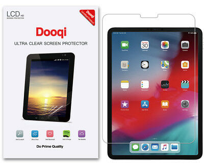 3X HD Clear LCD Screen Protector Shield Cover Guard For Apple iPad Pro 11 inch