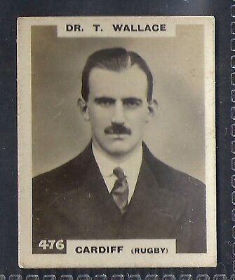 Pinnace Football-Double Frame Back-#0476- Rugby - Cardiff - Dr. T. Wallace