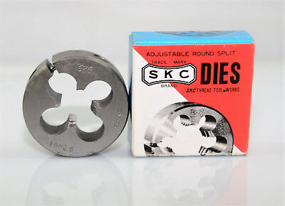 "M18x2.5 Adjustable Button Die 2"" OD, SKC Thread Tool Carbon Tungsten Steel,"
