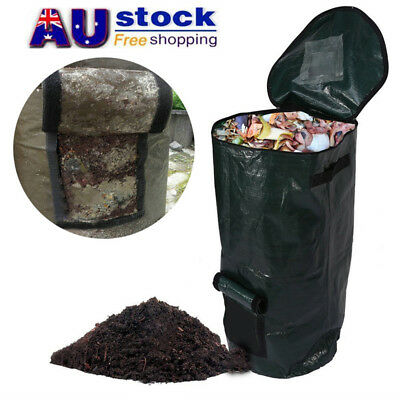 AU Compost Bag Ferment Waste Disposal Homemade Organic Waste Garden Yard Bag