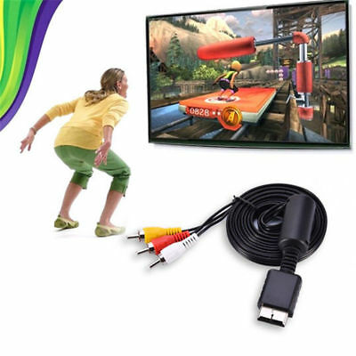 1080p HDMI Male S-video to 3RCA AV Audio Cable Cord Adapters For TV HDTV DVD X 1