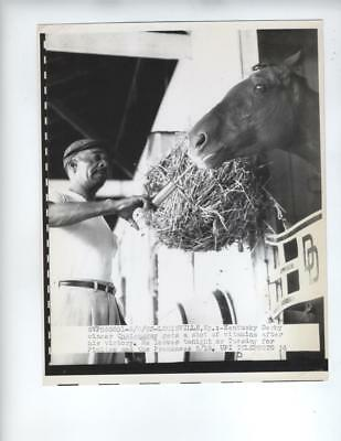 1963 Press Photo Kentucky Derby Race Horse Chateaugay 7x9 Pimlico Preakness