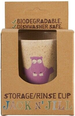 Jack N' Jill Storage/Rinse Cup - Hippo (Biodegradable Cup)