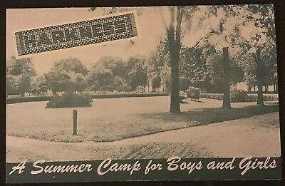 1948 Harkness Summer Camp Brochure Lake Erie Willoughby Ohio Cleveland