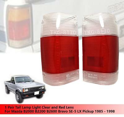 Tail Light Lamp Lens Fit For Mazda Magnum B2000 B2200 B2600 Pickup 1985-1995 New