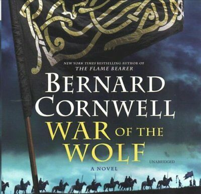 War of the Wolf by Bernard Cornwell 9781982555122 (CD-Audio, 2018)