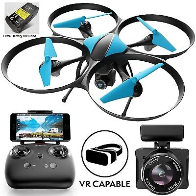 U49WF RC WiFi FPV Drone with Camera Live Video Quadcopter, 720p HD Camera