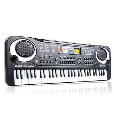 61 Keys Digital Music Electronic Keyboard Electric Piano Organ Instrument BE
