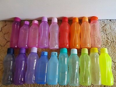 Tupperware - Eco On the Go 1L x 1 Bottle (Water / Drink) - New 750ml 2L 500ml