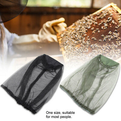 Outdoor Mosquito Resistance Bug Insect Bee Net Mesh Head Face Protector Cap Hat